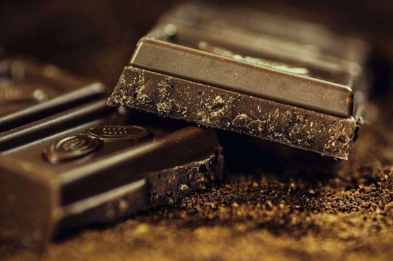 chocolate y corazon