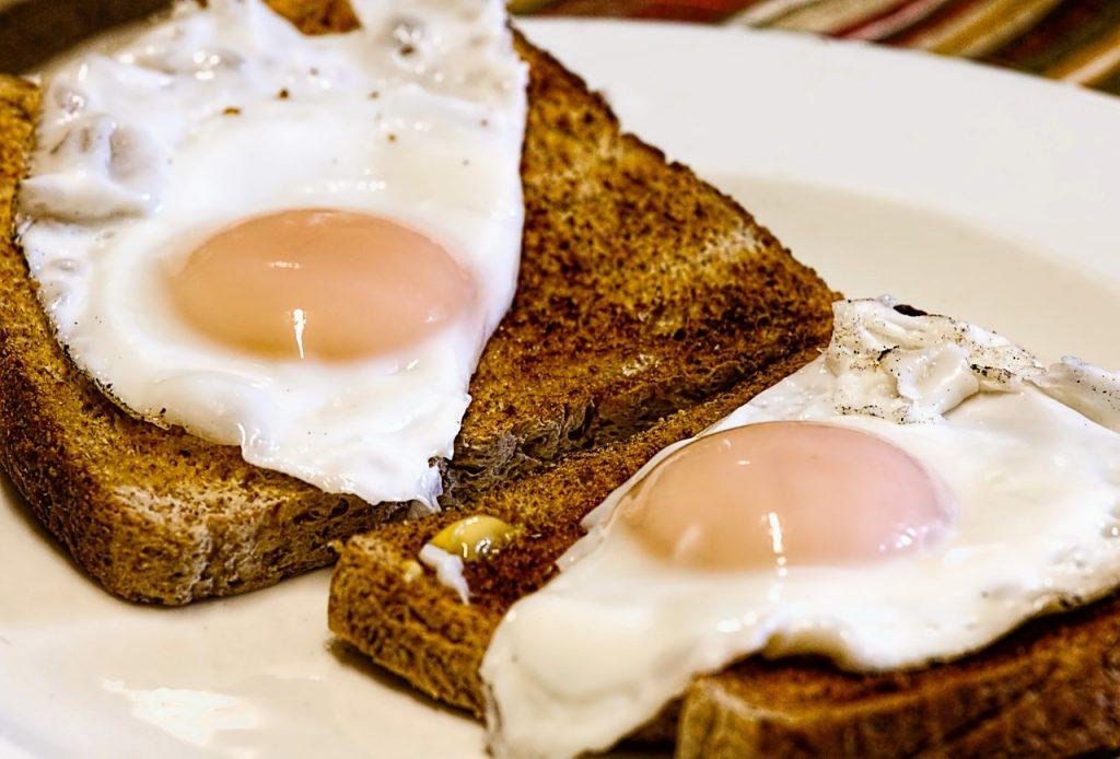 3 huevos por dia