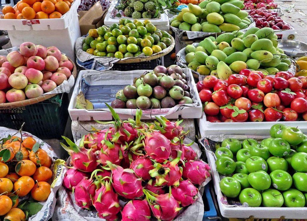 frutas verduras saludables