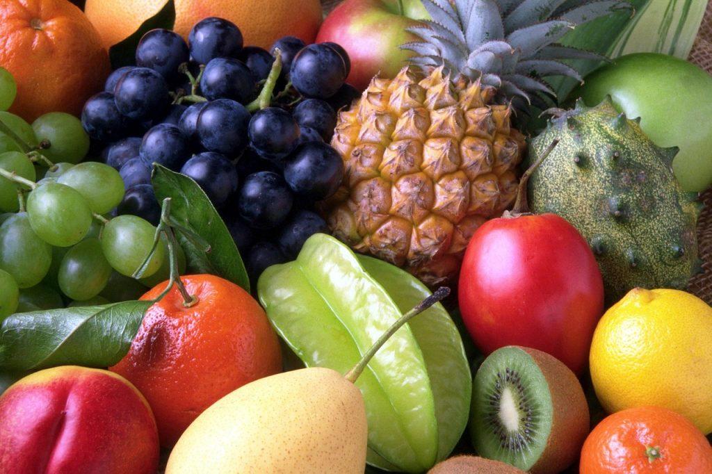 11 frutas bajas en azucar