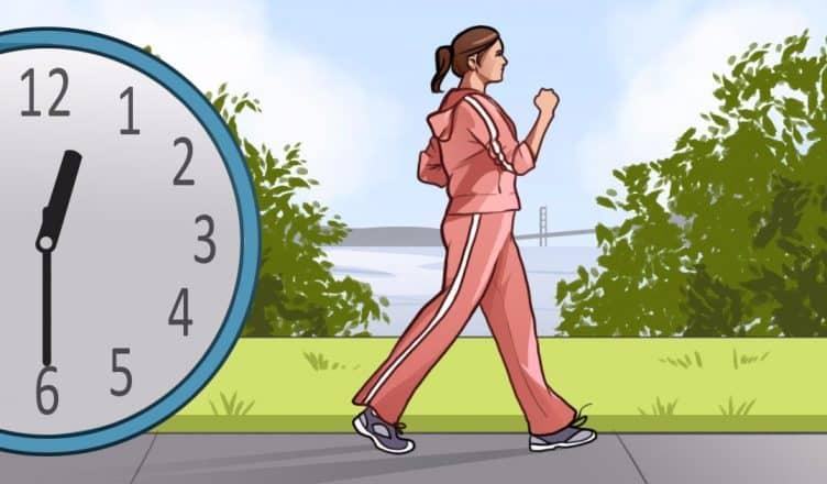 caminar 15 minutos por dia saludabel